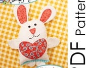 Little Love Bunny Sewing Pattern