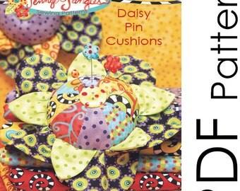 PDF Daisy Pin Cushions