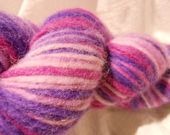 SALE!!  Wooly col: 9203-Grape yarn by Mango Moon