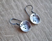 MAKE A WISH all sterling silver oxidized earrings by srgoddess