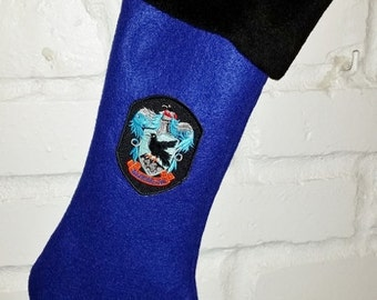 Ravenclaw Christmas Stocking - Full Size - Harry Potter Inspired