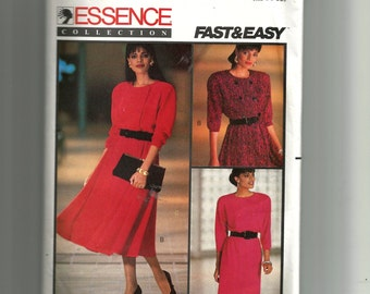 Butterick Misses'/Miss Petite Dress Pattern 6782