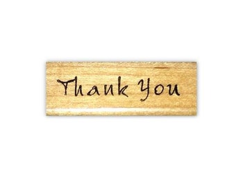 Thank you - mounted rubber stamp #1