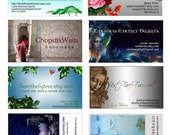 custom business card and  banner plus avatar and extras - reserved for JewelryByMitch