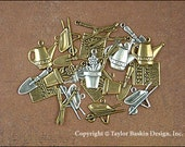 Gardening Charms Mixed Lot - 24 Pieces