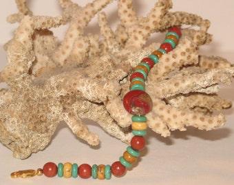 Jasper & Turquoise Bracelet