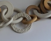 Ceramic Chain-link Sculpture no.1