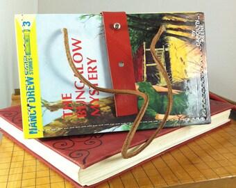 Vintage Nancy Drew, The Bungalow Mystery Handbag, repurposed