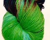 Hummingbird hand dyed fingering weight sock yarn *dyed to order*