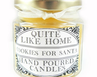 Cookies for Santa scented 4 oz. jar candle
