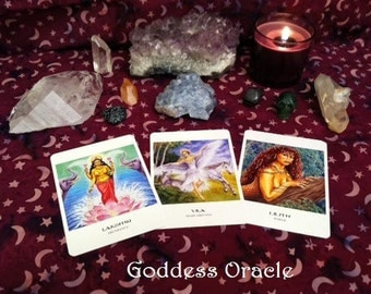 3-Card Goddess Intuitive Reading