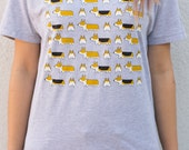 Corgi Crew T-shirt - Heather Gray