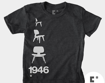 Eames Chair 1946 - Boys & Girls Unisex TShirt