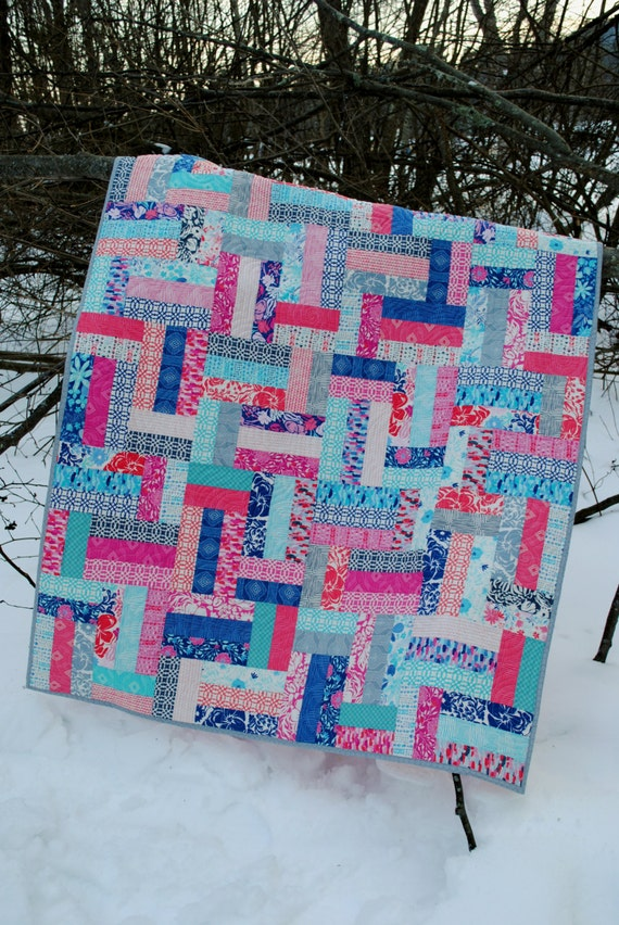 Quilt Pattern Easy Beginner Quick Strip And By