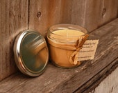 Golden Opium Scented Soy Wax Jar Candle (10 oz.)