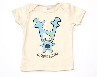 Strange Foo Baby T-Shirt - Organic Cotton