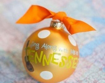 Sing Along with me in Tennessee Ornament