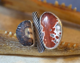 Red Earth Girl Ring