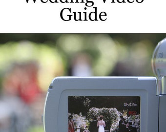 Shoot-It-Yourself Wedding Video Guide