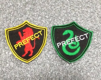 Prefect Patch interpreted - A chief officer or Magistate - Griffin or Snake