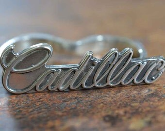 Double Knuckle Cadillac Ring in Sterling Silver