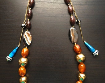 Salynn  Beaded Necklace