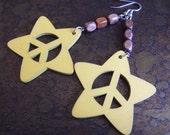 Exotica Wooden Dangle earrings