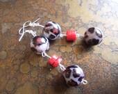 Sex Kitten Glass Beaded Dangle earrings