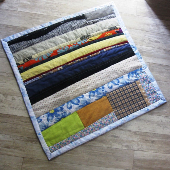 """Baby blanket comforter """"Lines"""" size 70 x 70 cm"""