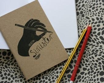 Notebook / Sketchbook - Sinister Handed