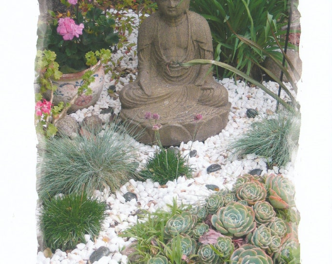 My Zen Garden frameable large card