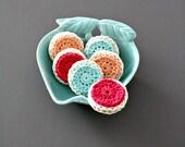 Iced Sugar Cookies Tea Party Desert Amigurumi Crochet