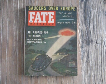 August 1957 Fate Magazine Volume 10 Number 8 Issue 89
