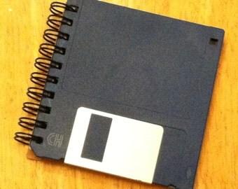 "Black 3.5"" Floppy Disk Notebook"