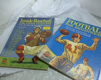 Wonder Books 1950s How to Play Little League