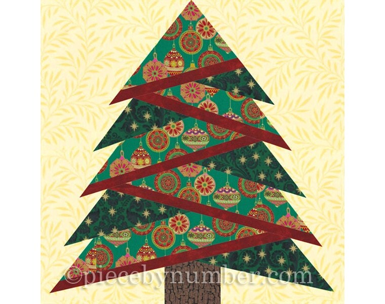Pine Tree quilt block pattern paper piecing quilt pattern : paper piece quilt patterns - Adamdwight.com