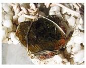 RAW Epidote 25 Carat - Mirror Polished