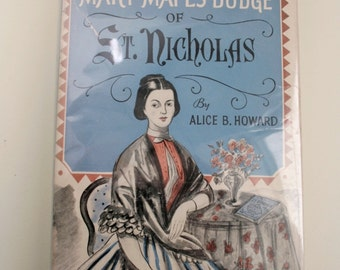 Vintage Book Biography of Mary Mapes Dodge