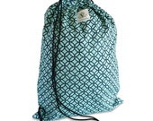 Diamond Eye Drawstring Backpack
