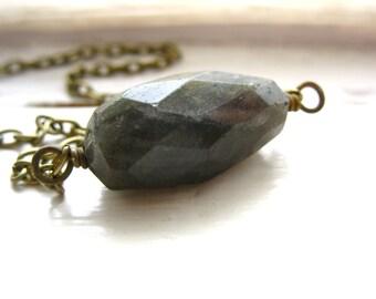 Labradorite Necklace, Labradorite Stone Birthstone Necklace, labradorite jewelry, Gemstone Jewelry, Handmade Jewelry