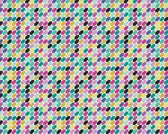 SALE fabric, Geometric Bliss fabric by Jeni Baker for Art Gallery Fabrics- Tessellate in Huckelberries- Choose your cut