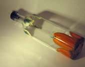 Hand Painted Pumpkin Olive Oil Bottle