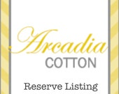 Reserve Listing for Nicole