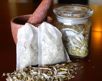 Sage & Rosemary Bath Tea Potpourri - 1 oz.