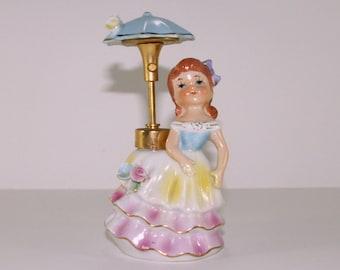 Vintage DeVilbiss Figural Perfume Bottle