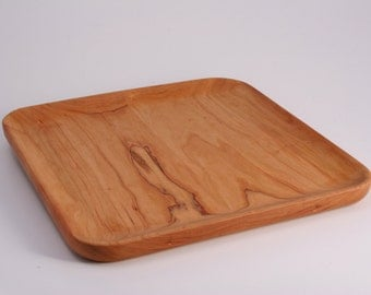 Cherry Plate | Wood Plate | Cheese Plate