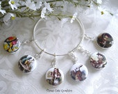 Alice in Wonderland Interchangeable Charms Available in 6 Styles