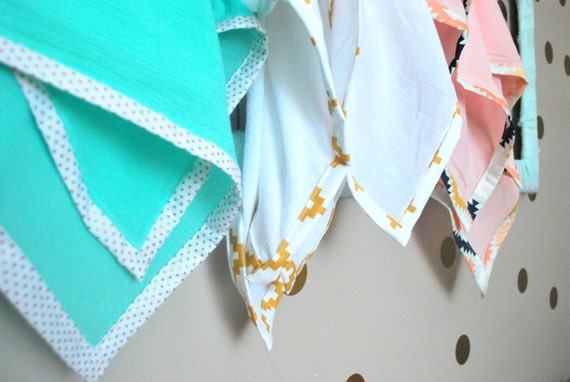 Swaddle Blankets for Baby- 100% Cotton Guaze Fabric-baby shower gift