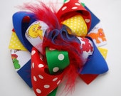 boutique MINI MOD SESAME street hair bow clip
