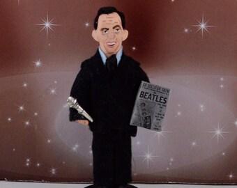 Ed Sullivan Doll Miniature Television History Art